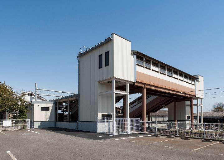 東浦駅エレベーター塔 / Elevator Building In Higashiura Station