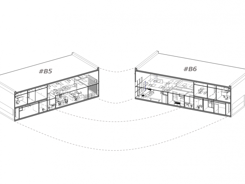 オフィスR 拡張プロジェクト / Expand Lab Office R