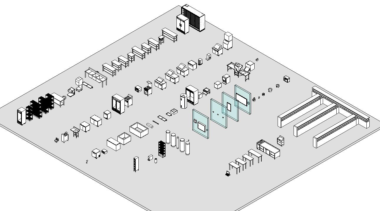 ファミリモデルと仕上表のダイレクトリンク In Revit / Direct Link Between Family Model And Table List In Revit
